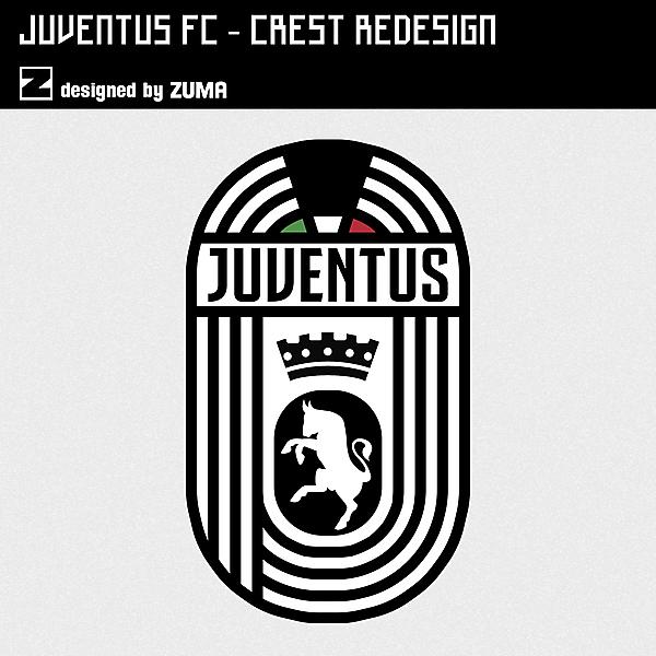 Juventus FC   Crest Redesign