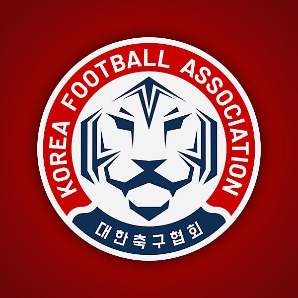 Korea Football Association | Crest Redesign