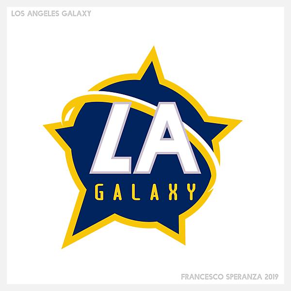 LA Galaxy crest redesign