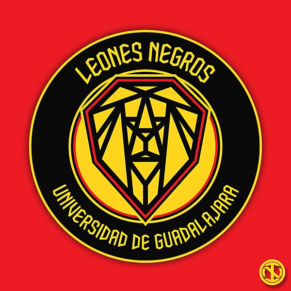 Leones Negros   Crest Redesign Concept