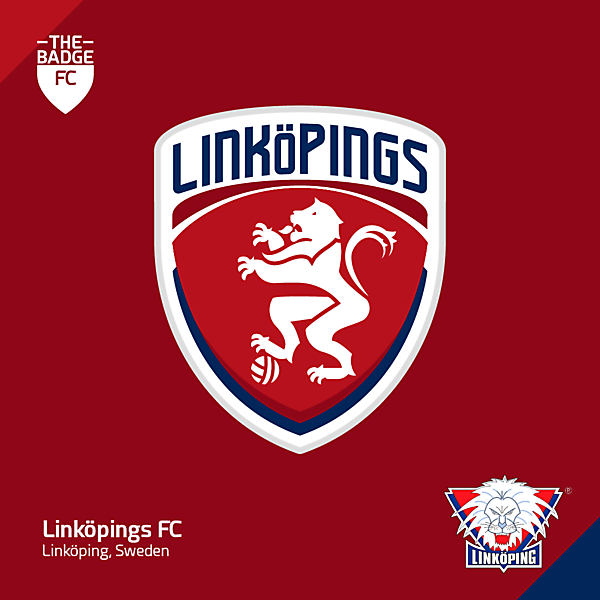 Linköpings FC Badge Redesign Concept by @thebadgefc - CRCW 209