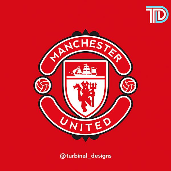 Manchester United Crest Redesign