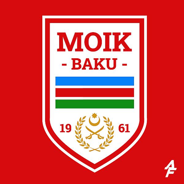 MOIK Baku Logo Redesign