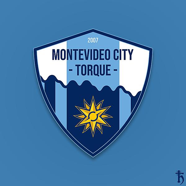 Montevideo City Torque - crest redesign