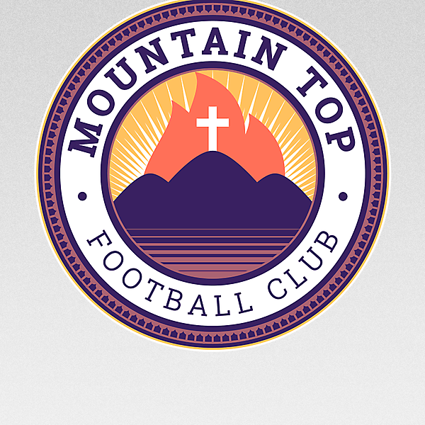 Mountain Top FC - redesign - crest