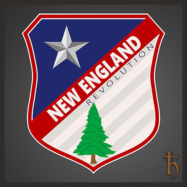 New England Revolution - Redesign