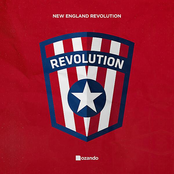 New England Revolution   Crest