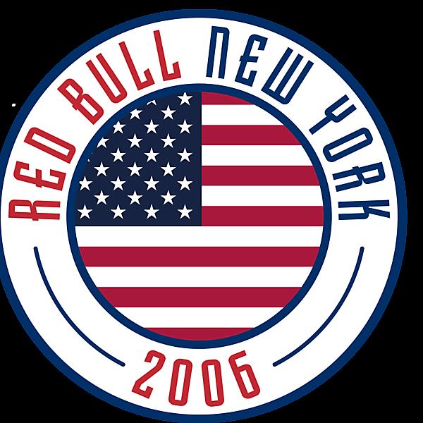 New York Red Bull Crest Re-Design