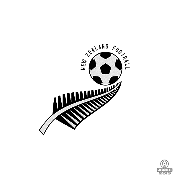 New Zealand Football - crest redesign