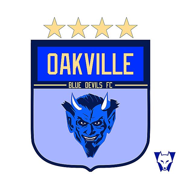 Oakville FC crest