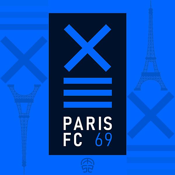 PARIS FC CREST REDESIGN