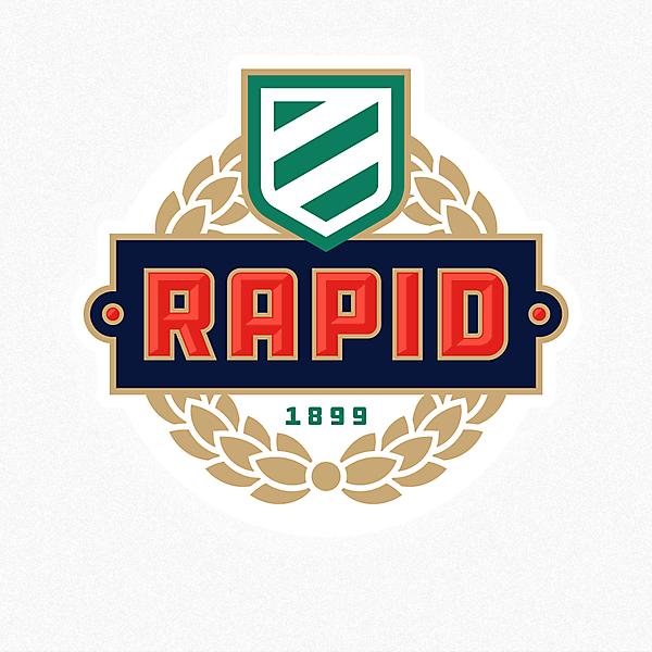 Rapid Wien - Rapid Vienna - crest redesign