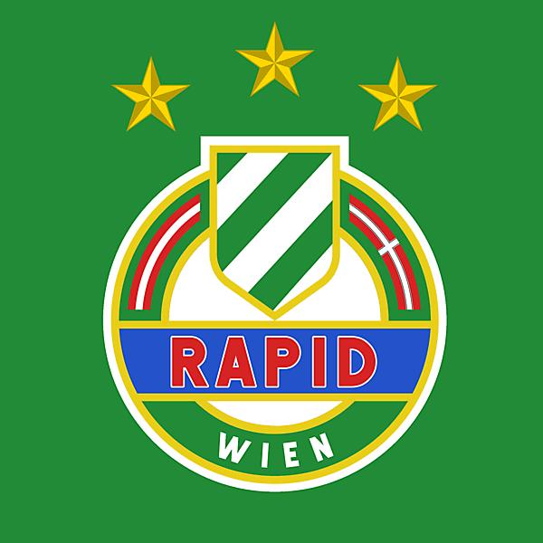 Rapid Wien redesign
