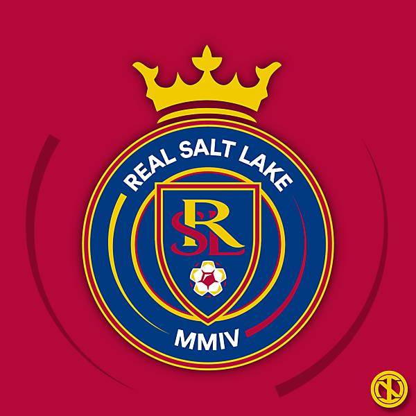 Real Salt Lake   Crest Redesign Concept