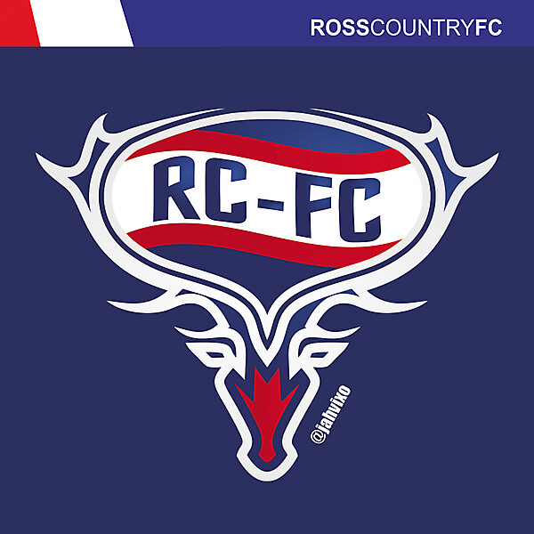Redesing Ross County FC Crest