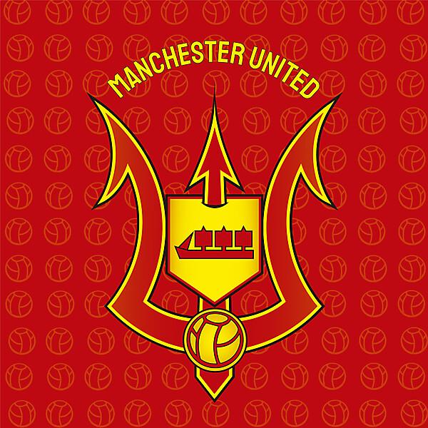 Rediseño logo Manchester united