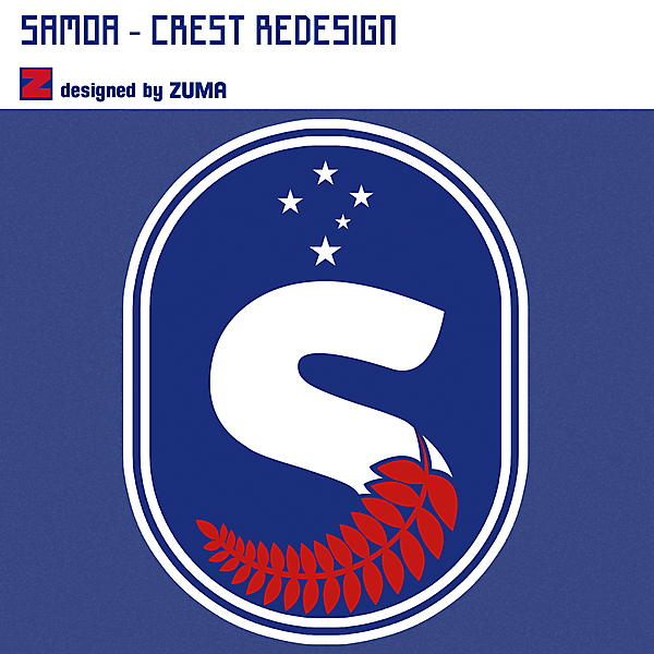 Samoa | Crest Redesign