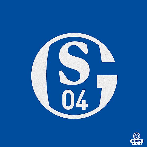 Schalke 04 - crest redesign