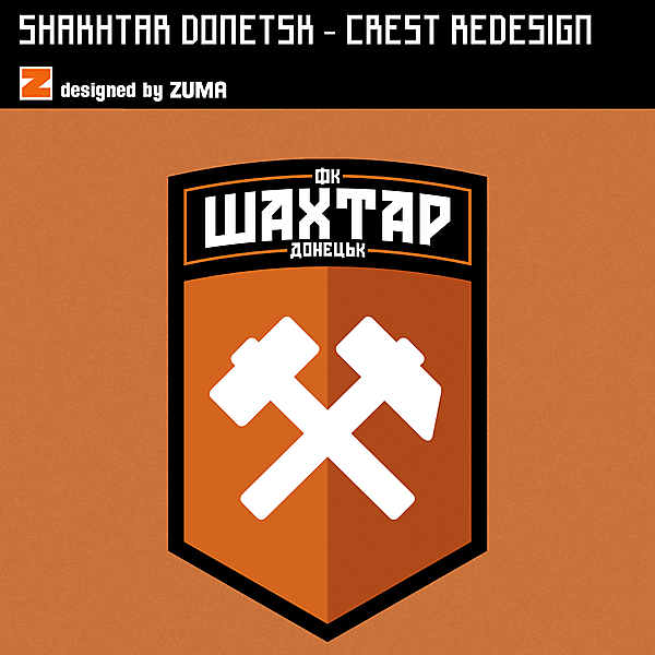 Shakhtar Donetsk | Crest Redesign