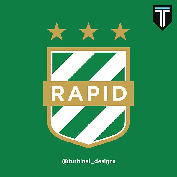 SK Rapid Wien Crest Redesign