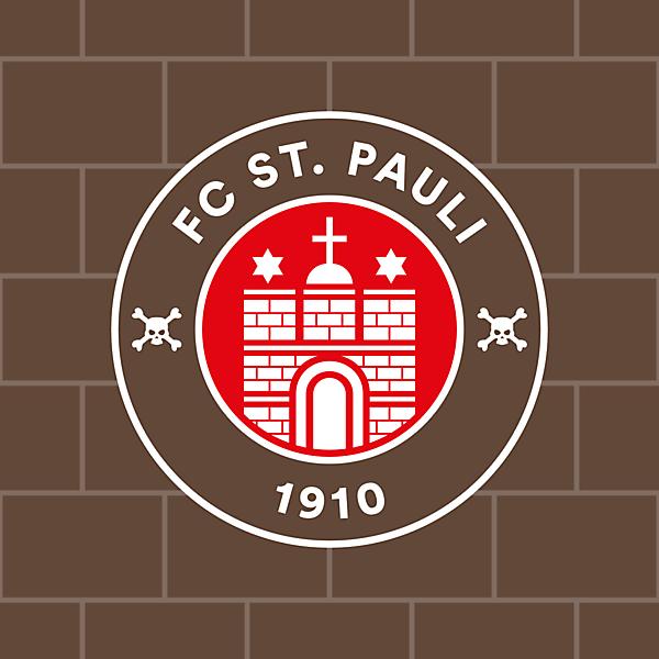 St. Pauli   Crest Redesign Concept