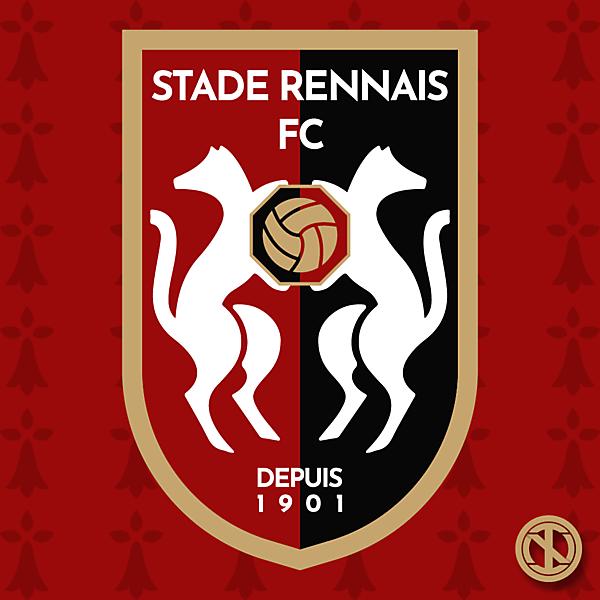 Stade Rennais FC | Crest Redesign Concept