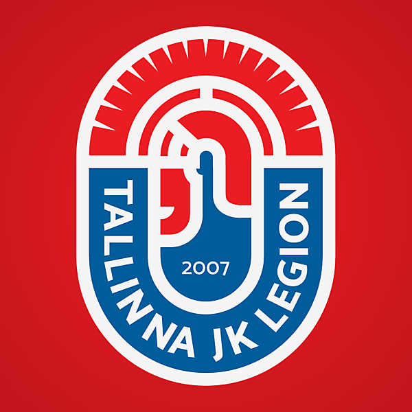 Tallinna JK Legion   Crest Redesign