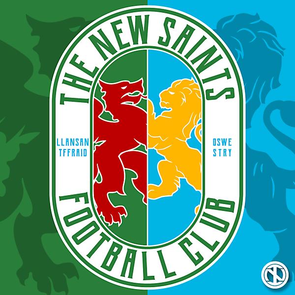 The New Saints | Crest Concept