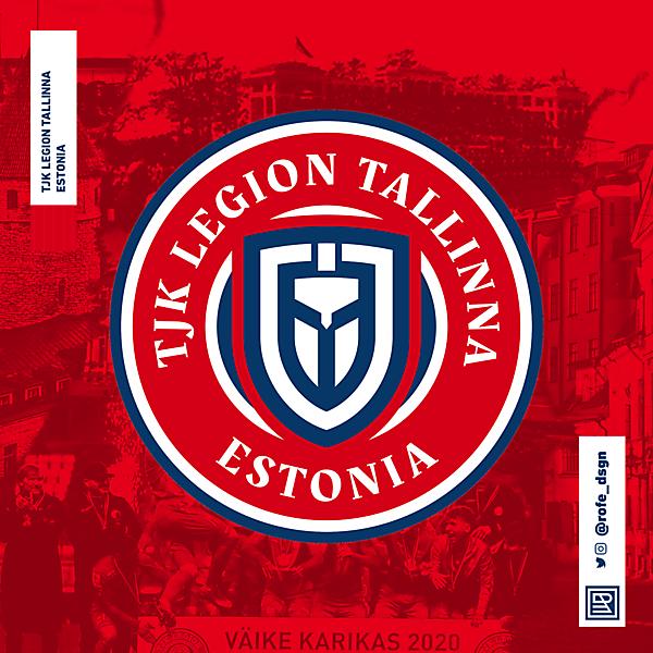 TJK Legion Tallinna   Rebranding By @rofe_dsgn