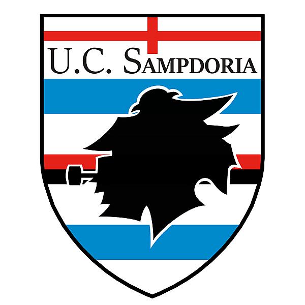 U.C. Sampdoria Badge Redesign