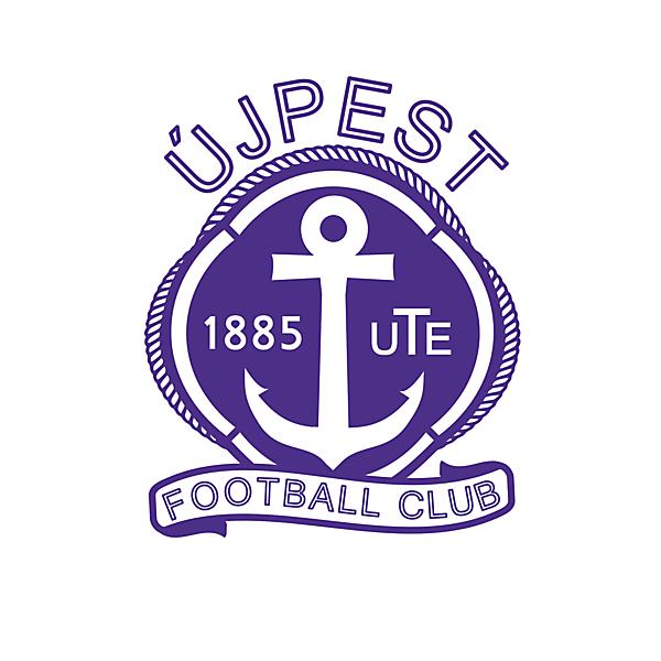 Ujpest Fc - Crest redesign