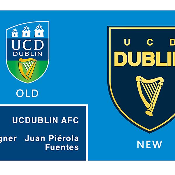 UNIVERSITY COLLEGE DUBLIN AFC logo