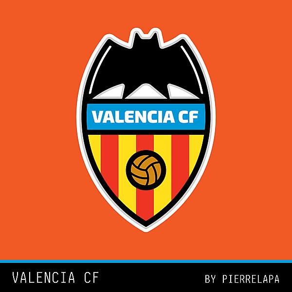 Valencia CF - crest redesign