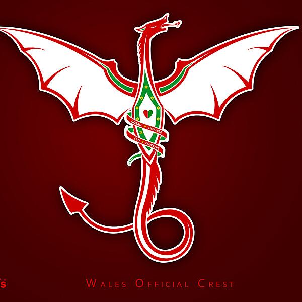 Wales National Crest Design