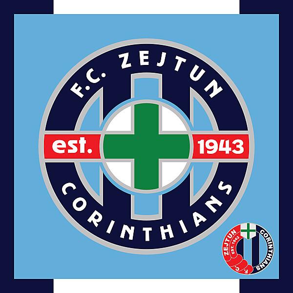 Zejtun Corinthians - Redesign