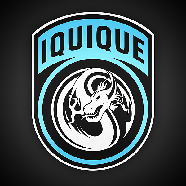 Deportes Iquique   Crest Redesign