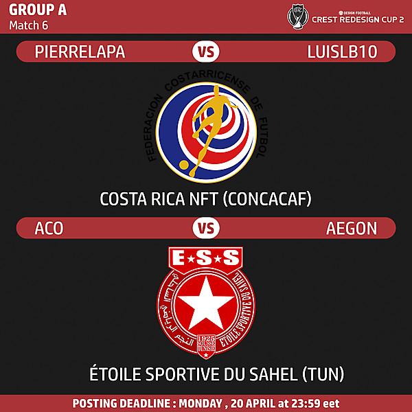 Group A - Match 6