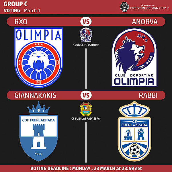 Group C - Voting - Match 1