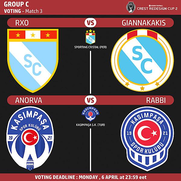 Group C - Voting - Match 3