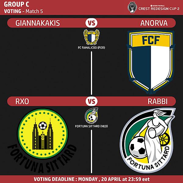 Group C - Voting - Match 5