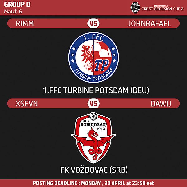 Group D - Match 6