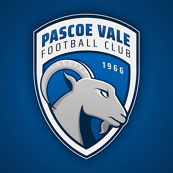Pascoe Vale FC | Crest Redesign