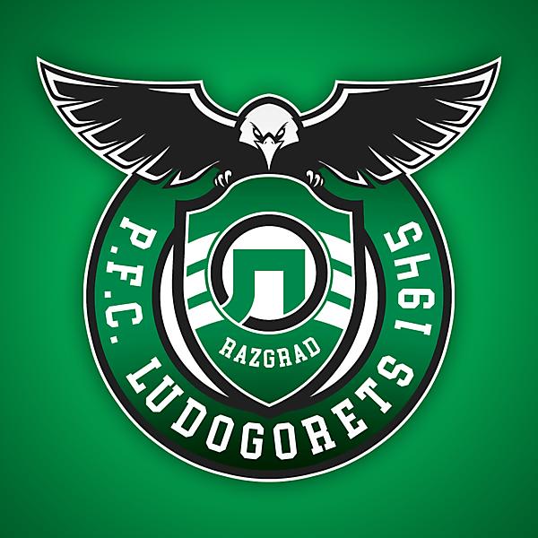 PFC Ludogorets 1945 Razgrad   Crest Redesign