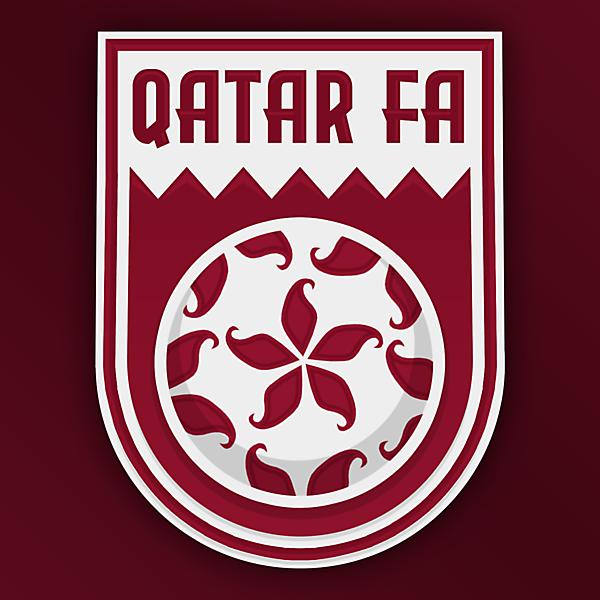 Qatar FA | Crest Redesign