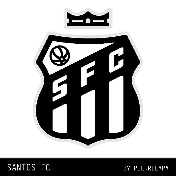 Santos FC - Brazil - redesign