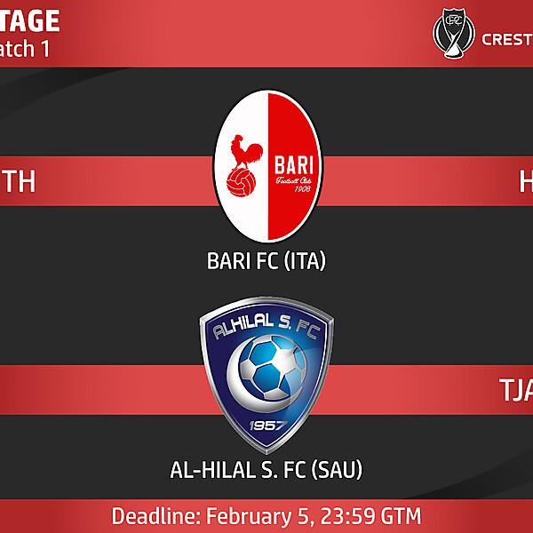 Group A - Match 1