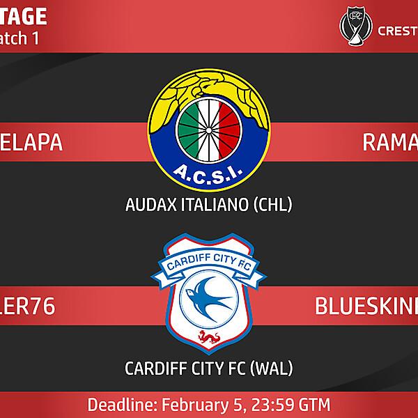 Group B - Match 1