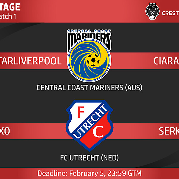 Group D - Match 1