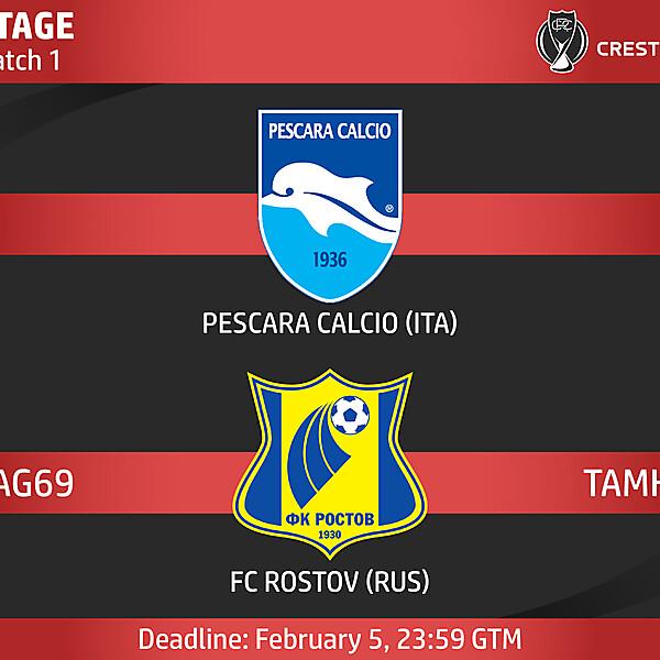 Group E - Match 1