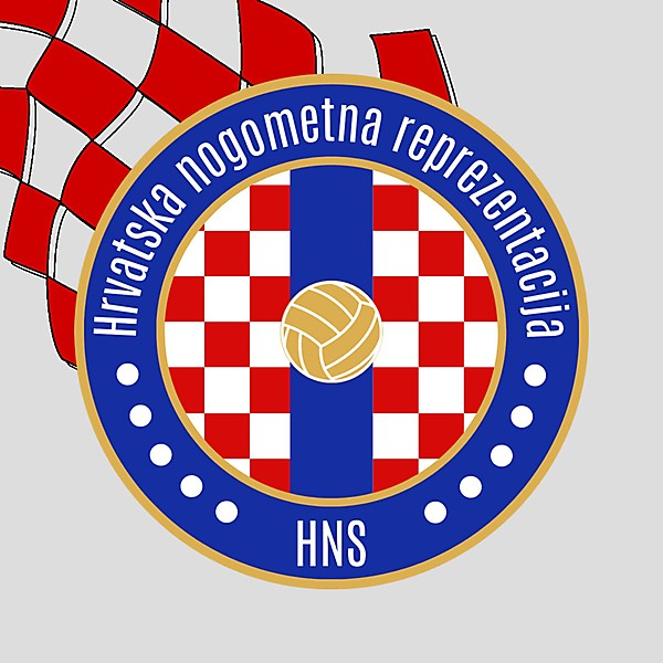 Croatia Football Crest Redesign